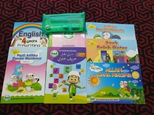 buku tadika Pasti-4 tahun